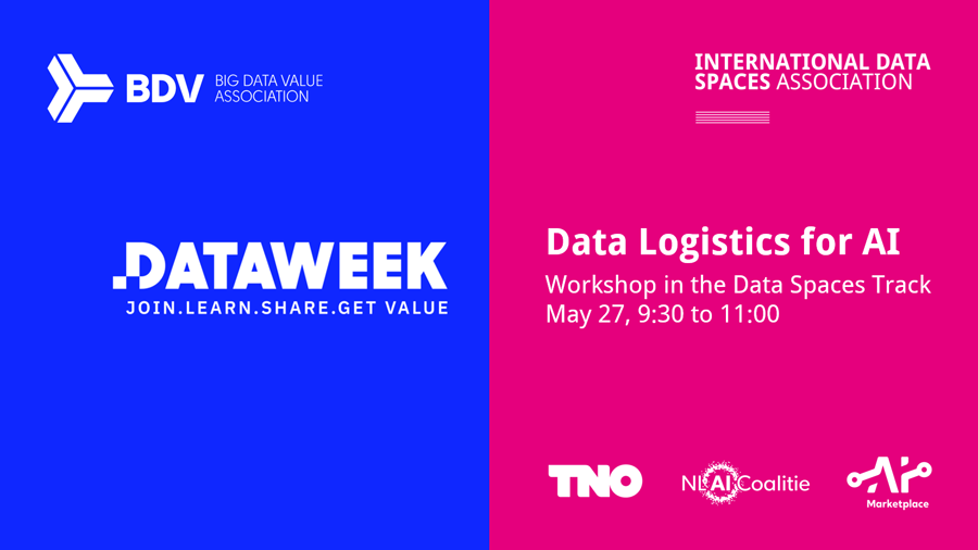 BDVA Data Week 2021 | Workshop: Data Logistics for AI