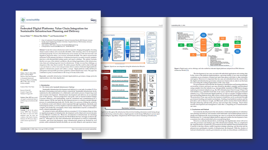 New Article Discusses Federated Digital Platforms for Infrastructure Planning