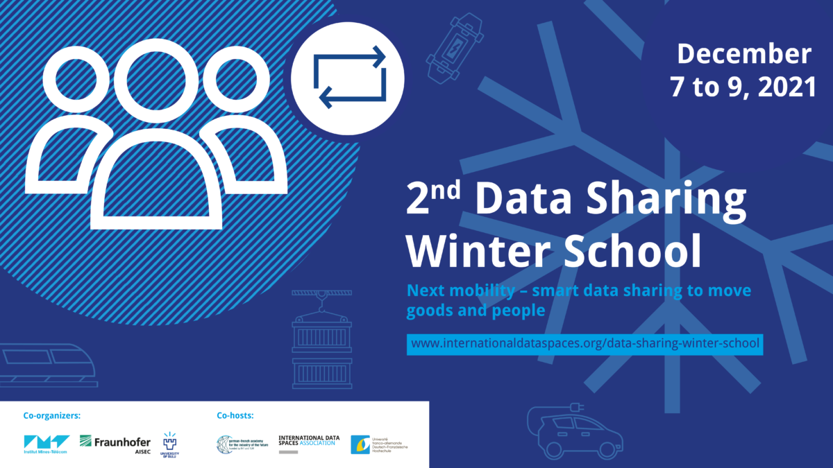 Data Sharing Winter School | Next Mobility – Smart Data Sharing to Moving Goods and People