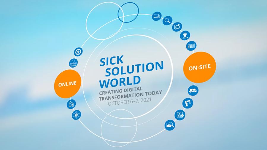 SICK Solution World   Creating Digital Transformation Today