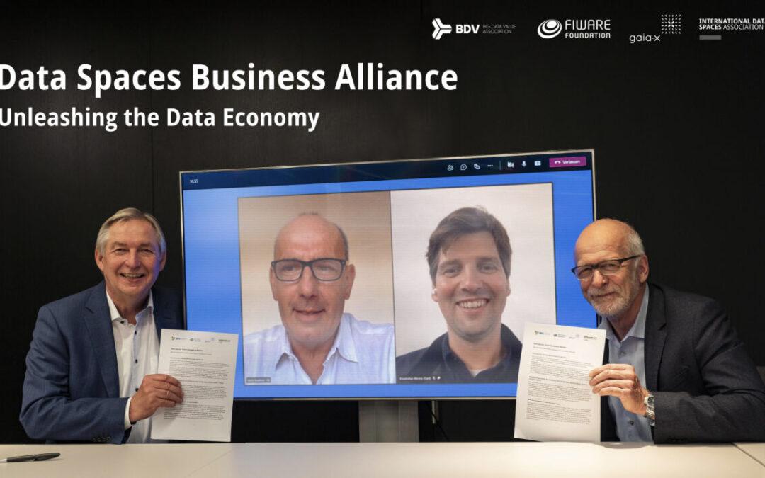 BDVA, FIWARE, GAIA-X and IDSA Launch Alliance to Accelerate Business Transformation in the Data Economy