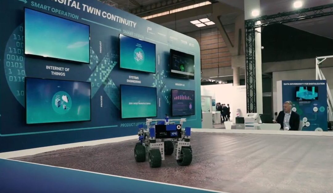 Presentation of the Trusted Digital Twin Testbed at the IoTSWC Barcelona 2019