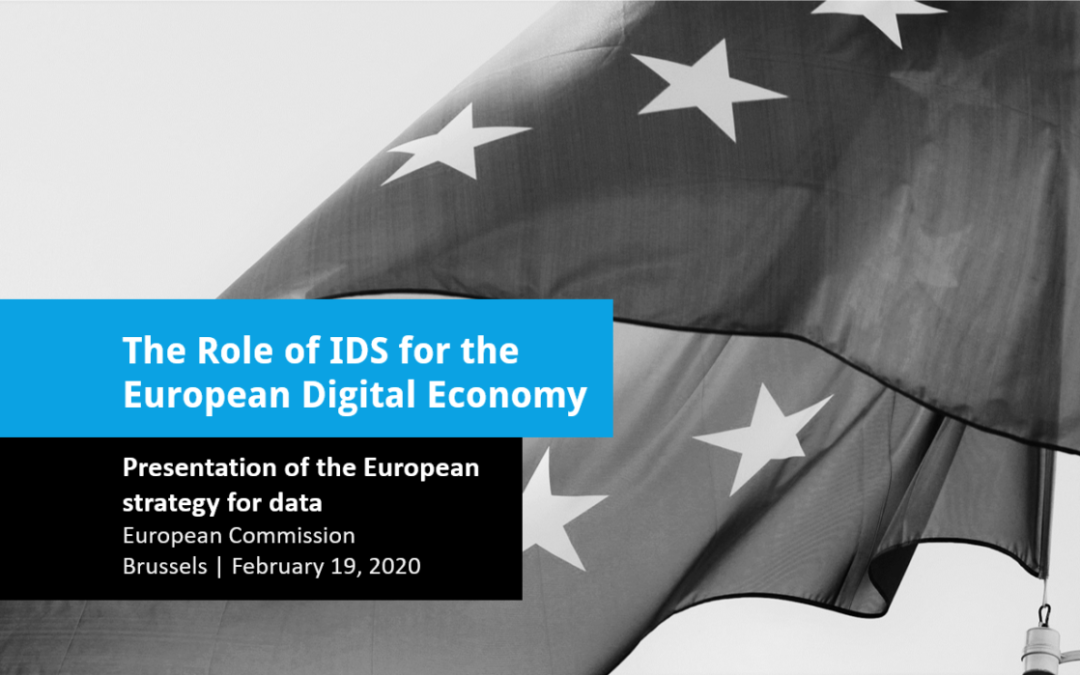 The Role of IDS for the European Digital Economy