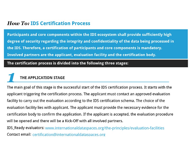"Insight: ""The 3 stages of the IDS certification process"""