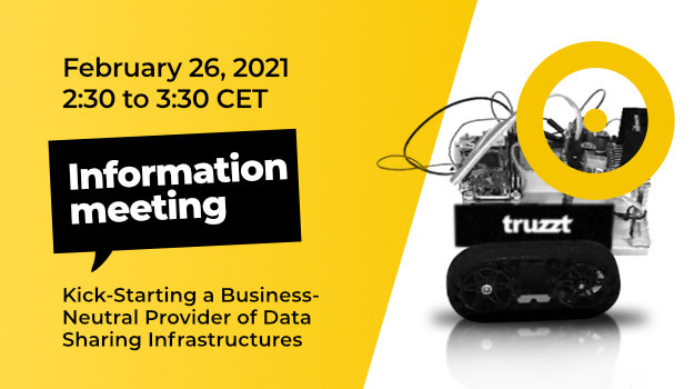 Information Meeting: Kick-Starting a Business-Neutral Provider of Data Sharing Infrastructures (substitute date)